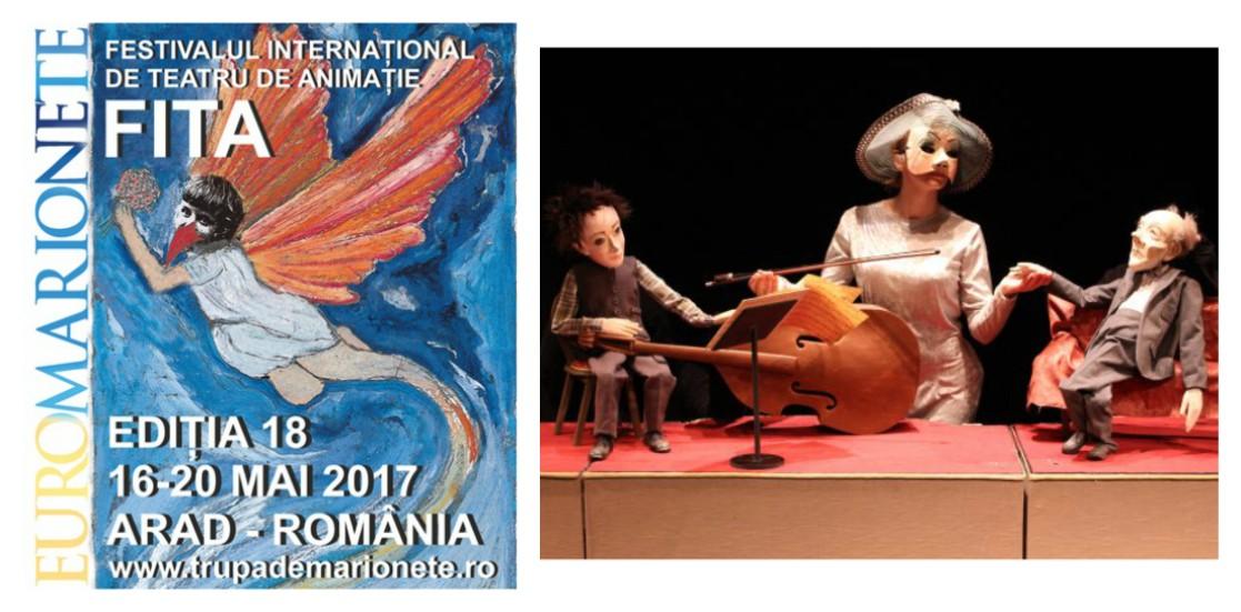 EUROMARIONETE 2017.FESTIVALUL INTERNAŢIONAL DE TEATRU DE ANIMAŢIE (FITA)