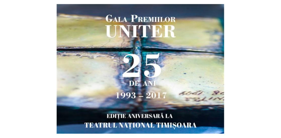 Laureaţii Galei Premiilor UNITER 2017. Ediţia a XXV-a