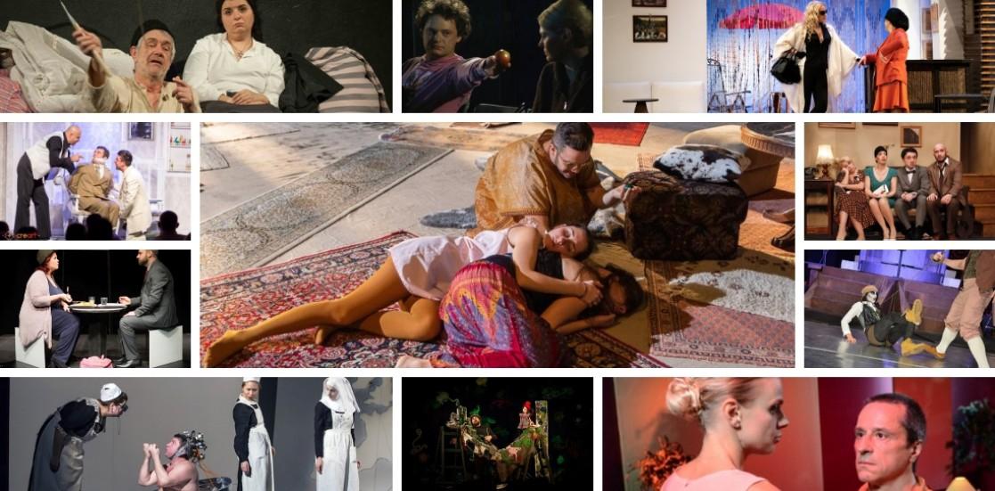 """Spectacolele jucate sub semnul Campaniei Naționale """"Artiștii pentru artiști"""" 2019"""