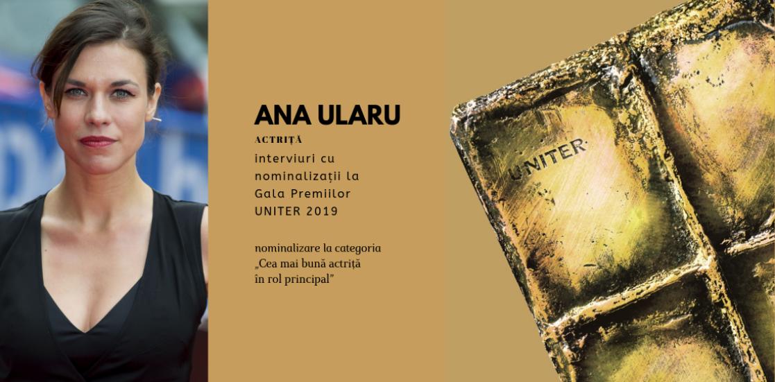 """(Română) Ana Ularu: """"Mie îmi place cu meșteșug și aplicare, cu lucru, și abia mai târziu lăsate virtuozitățile să se manifeste"""""""