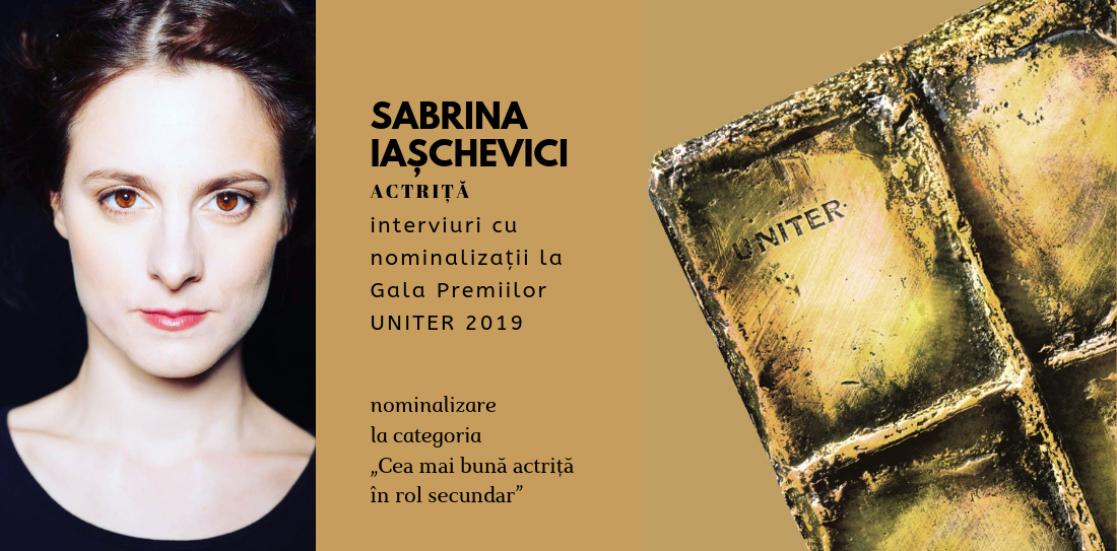 """(Română) Sabrina Iașchevici: """"Andrei Șerban m-a făcut să îmi pun întrebări. Importante. Dintre care unele m-au tulburat destul de tare"""""""