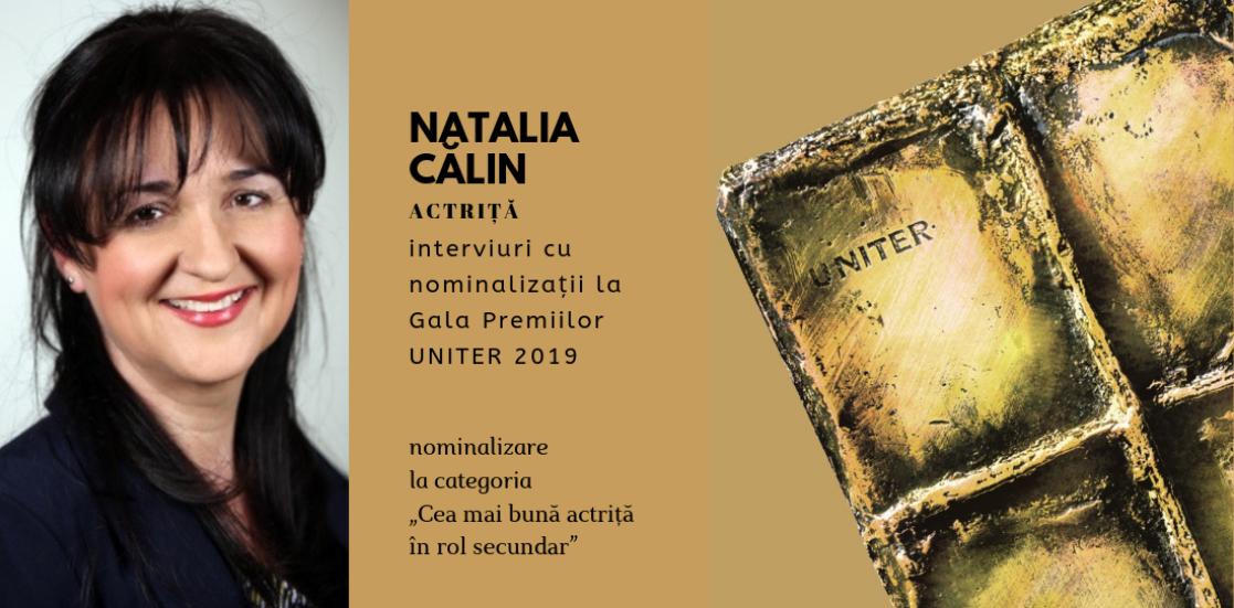 """(Română) Natalia Călin: """"Dacă iei un premiu e evident că ești bun? Eu nu cred… Sunt foarte mulți actori buni care nu au luat premii"""""""
