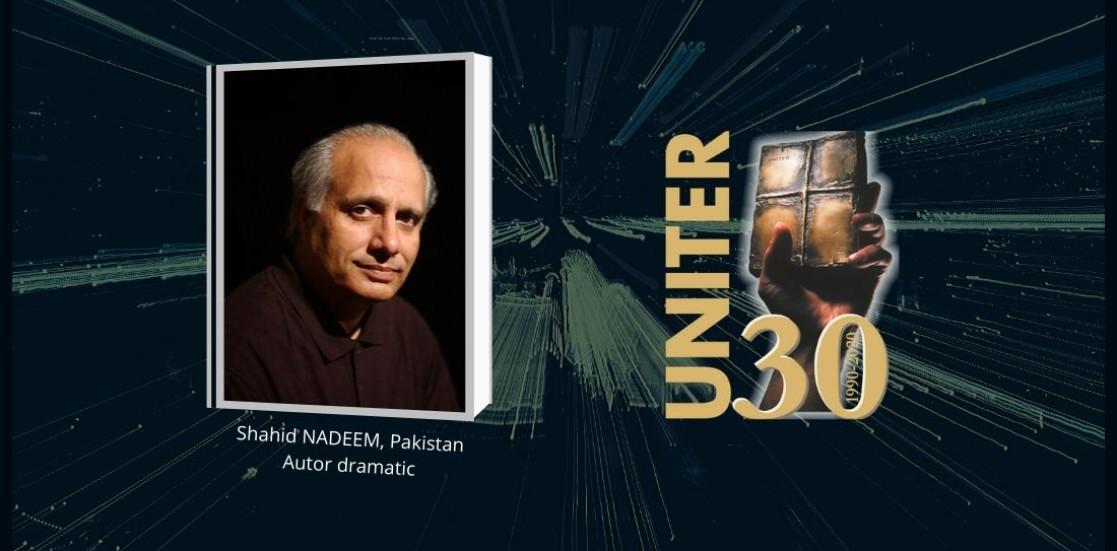 Teatrul ca sanctuar – Mesajul pentru Ziua Mondială a Teatrului 2020, de Shahid NADEEM