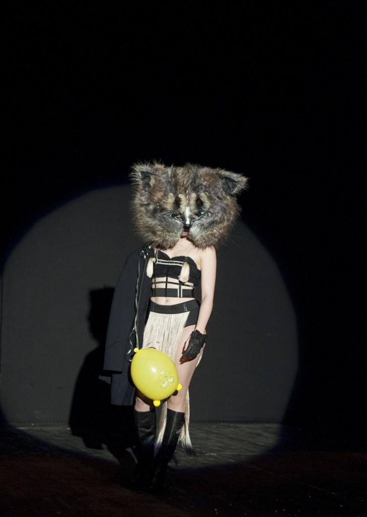 Alina Petrică, la preselecțiile pentru Gala HOP. Foto: Andrei Gîndac