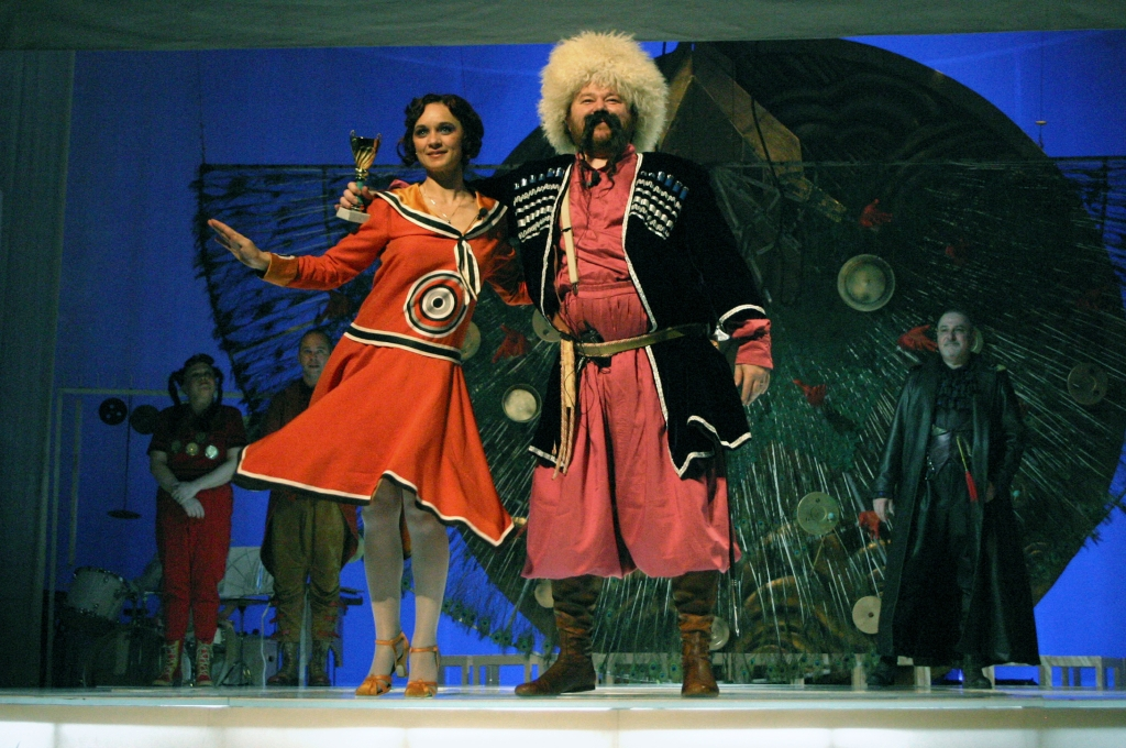Elizaveta Bam – operă bufă de Irinel Anghel pe textul lui Daniil Harms
