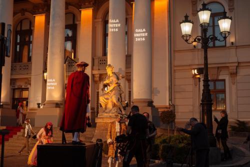 Oradea, înainte de Gala Premiilor UNITER